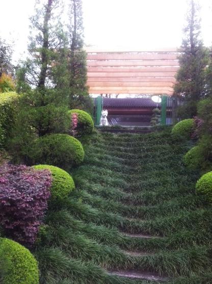 escada para o jardim:Escada de jardim!